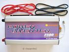 US Stackable 2500W Off Grid Power Inverter 12V 24V 48V DC to 240V OR 120V AC