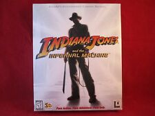 Indiana Jones and the Infernal Machine  (PC, 1999) BIG BOX