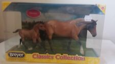Breyer classic Dartmoor mare and foal