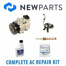 Ford F-150 2005 5.4L 4.6L Complete A/C Repair Kit With NEW Compressor & Clutch