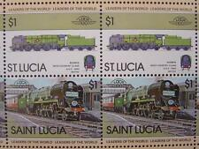 1945 SR BODMIN West Country Class Train 50-Stamp Sheet (Leaders of the World)