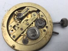 ANTIQUE  POCKET WATCH MOVEMENT ONLY  FOR PARTS SOLD AS IS #14