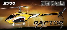 Thunder Tiger RC Helicopter Raptor E700 V3 Flybarless Elektro Kit 4761-K30