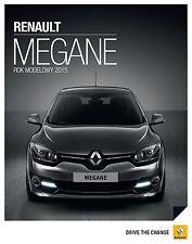 Renault Megane 10 / 2014 catalogue brochure polonais rare