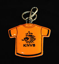 Official Netherland Football KNVB Sign Shirt Keyring Chain Holland Soft Leather