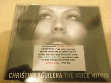 CHRISTINA AGUILERA  the voice within  ISRAELI  ISRAEL PROMO cd single