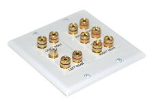 5.1 Speaker Wall Plate with Mounting Bracket