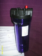 WATER FILTER HOUSING PLASTIC,10 INCH,1/2 BSP,BIO,WVO,VEG OIL,HOUSE,IRRIGATION