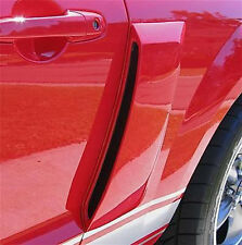 10-14 Ford Mustang Street Scene Urethane 1/4 Panel Side Scoops Ducts 950-70774