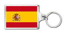SPAIN FLAG KEYRING SOUVENIR NEW LLAVERO ESPAÑA