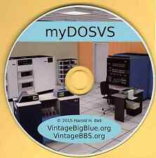 IBM 370 Mainframe OS on PC myDOSVS  RPG-COBOL-FORTRAN-PL/1-Assembler VSAM VTAM