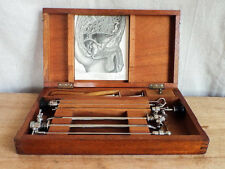 Antique Medical Surgeons Instrument Urethral Cystoscope Doctors Equipment Set