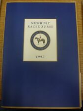 1997 Horse Racing: Newbury Racecourse Information Brochure For The 1997 Season,