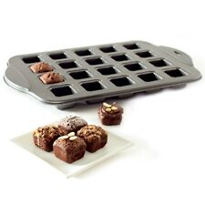 NORPRO NONSTICK MINI PETITE BROWNIE PAN Baking Tray 20 Piece NP3962 N