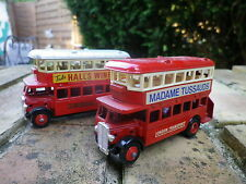 DAYS GONE by LLedo AEC REGENT BUS MADAME TUSSAUDS + HALL'S WINE comme neuf