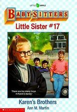 Karen's Brothers (Baby-Sitters Little Sister, No. 17)-ExLibrary
