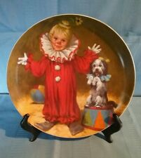 """Reco """"Tommy The Clown"""" Plate - John McClellands Childrens Circus Collection"""