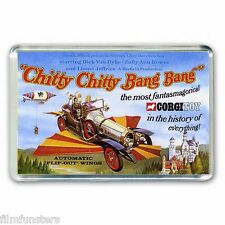 RETRO  CORGI TOY ARTWORK-  CHITTY CHITTY BANG BANG JUMBO FRIDGE MAGNET