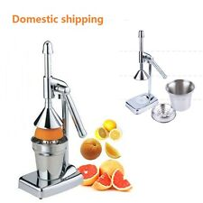 New Hand Press Juice Press Pro Manual Citrus Juicer Fruit Lemon Juice Squeezer