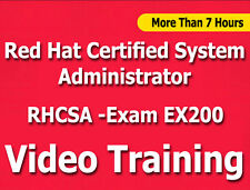 Red Hat Certified System Administrator EX200 Exam video training tutorial CBT