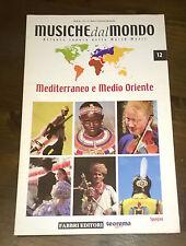 """Libri/Riviste""""MUSICHE DAL MONDO MEDITERRANEO E MEDIO ORIENTE SPAGNA N°12""""Fabbri"""