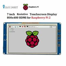 "7"" TFT LCD 800*480 HDMI Touch Screen Display for Raspberry Pi 2 Model B"
