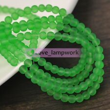 Wholesale 4mm 6mm 8mm 10mm Jelly Like Round Spacer Loose Glass Beads Finding DIY