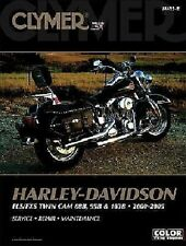 2000-2005 Harley FLS FXS Twin Cam 88B 95B 103B Clymer Repair Shop Manual M4232
