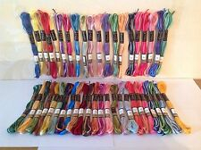 25 Variegated thread Anchor cotton cross stitch embroidery Floss vibrant colours