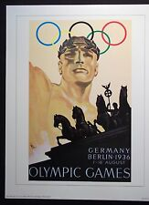1936   Olympic Poster  BERLIN, GERMANY