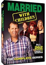 MARRIED WITH CHILDREN DVD - THE COMPLETE SERIES [21 DISCS] - NEW UNOPENED