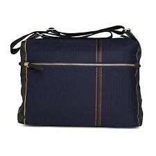 Paul Smith Bag - 13 Maharam Stripe Fabric Flight Bag Messenger/BNWT/RRP: £275