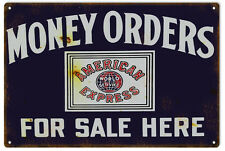 Reproduction American Express Money Order Sign