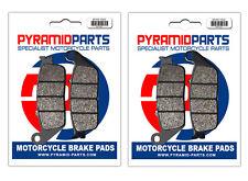 Honda CBR 1000 F 89-92 Front Brake Pads (2 Pairs)