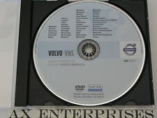2008 2009 Volvo S80 V70 XC70 VNS VCC Navigation DVD 831 WEST US Canada Map ©2007