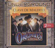 Los Originales de San Juan Underground  Clave de maldito 2CD New Nuevo sealed