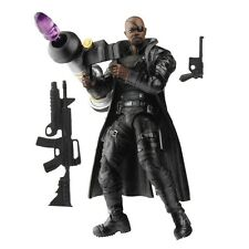 "2012 Marvel AVENGERS ASSAULT SQUAD NICK FURY #17 Movie Series 3.75"" ~ LOOSE"