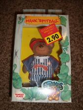 Rare Furskins Hank Spitball Bear Flocked 1986 Jointed Vintage Doll Cabbage Patch
