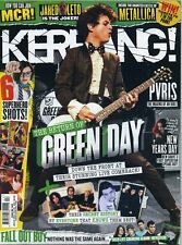 Kerrang Magazine issue 1565 return of green day fall out boy pvris metallica