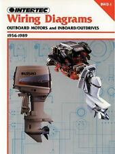 1956-1989 Outboard Motors & Inboard Outdrives Clymer Wiring Diagrams Manual BWD1