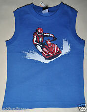 Gymboree boy active size 5 NWT water runner jet ski blue tank top boys
