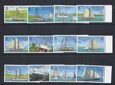 ANGUILLA 2003 SAILING SHIPS definitives (Sc 1085-96) VF MNH