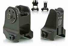 Brand New Full Metal Tactical  Fixed Iron Front and Rear Sights Set Black Finish