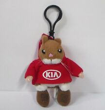 Kia Hamster Plush Keychain Stuffed toy Soul Forte Sorento Optima ring