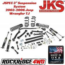 "JKS Manufacturing JSPEC 3"" Suspension System 2003-2006 Jeep Wrangler TJ LJ USA"