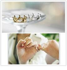 Crown Finger Ring Women men Jewelry Wedding Cheap good quality Accessories