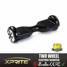 """Black Safe Smart 6.5"""" 2 Wheel Electric Balancing Scooter UL 2272 Certificated"""