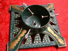VERY VINTAGE CAST IRON CHRISTMAS TREE STAND GERMAN STYLE