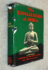 The Civilization of India,Grousset,VG-/POOR,HB,1939   F