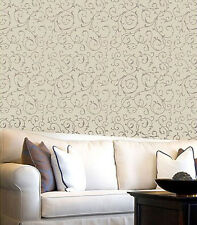 Lily Scroll Allover Stencil - Reusable Wall Stencils for Easy DIY Wall Decor